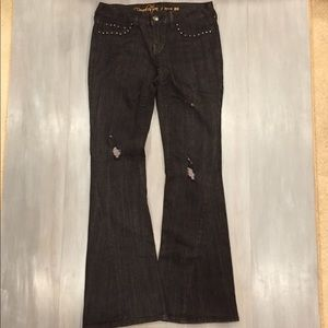 ☀️Revolution by Revolt Black Distressed Jeans